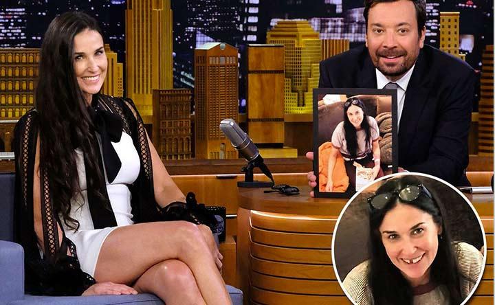 Mancano dei denti a Demi Moore: lo stress può davvero fare cadere i denti?