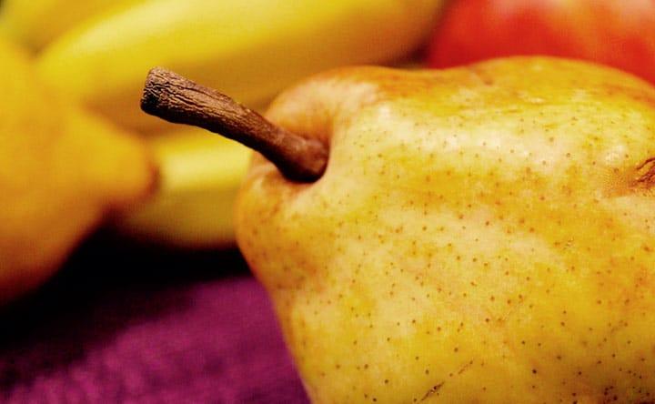 Pera: frutto amico dei denti e della salute