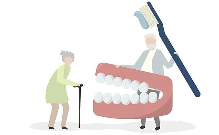 La perdita dei denti può indicare la malnutrizione, lo studio