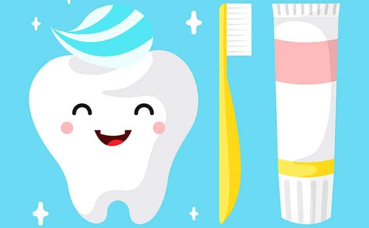 Come spazzolare correttamente i denti
