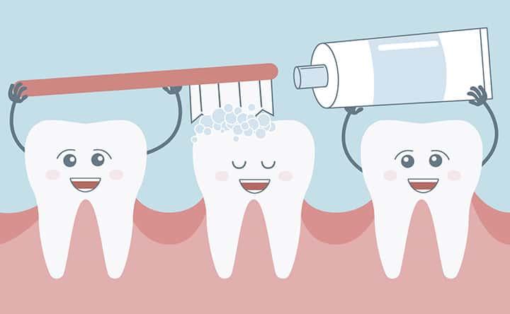 denti sani alimentazione